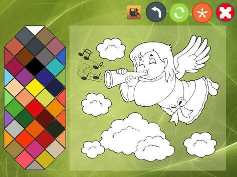 Angel coloring book screenshot 2