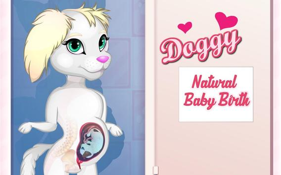 Doggy Naturale Baby Birth poster