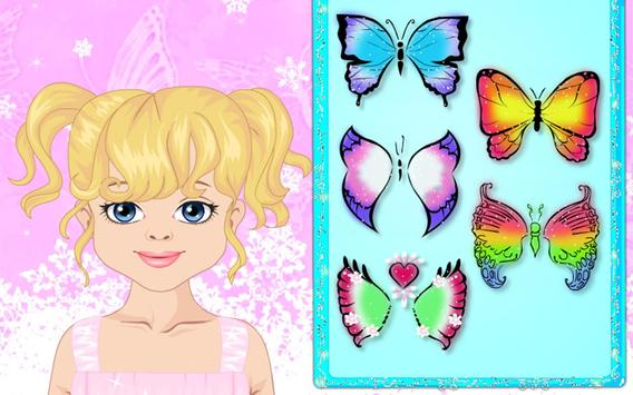Polly Makes Butterfly Face Art poster