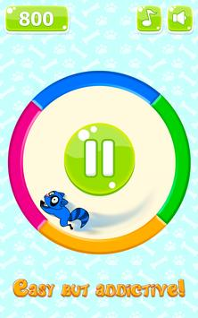 Rolling Wheel & Circle Puzzle apk screenshot