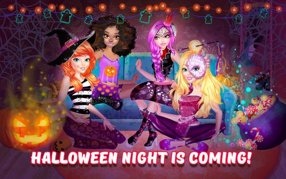 Halloween PJ Party Makeover poster