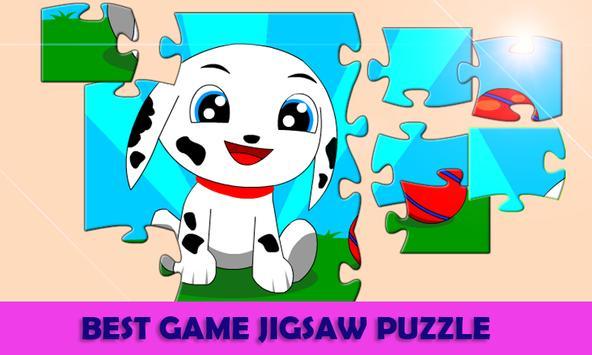 Jigsaw Puzzle Animal Cartoon Kids screenshot 2