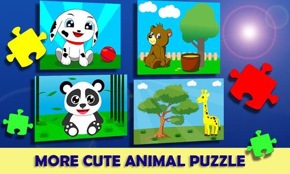 Jigsaw Puzzle Animal Cartoon Kids screenshot 4