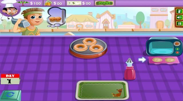 Mr Bean Street Bakery - Free games apk screenshot
