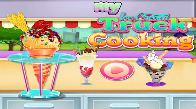My Ice Cream Truck Cooking - Free Game poster