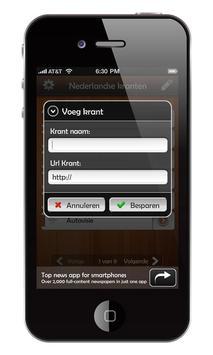 Nederlandse kranten (GRATIS)) apk screenshot