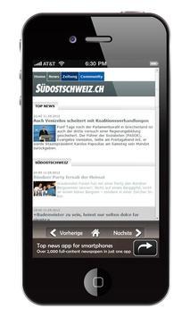 Schweiz Zeitungen screenshot 1