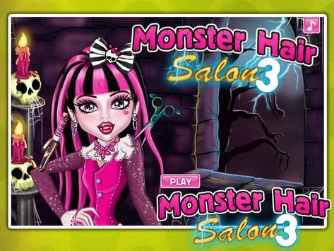 Monster Hair Salon poster