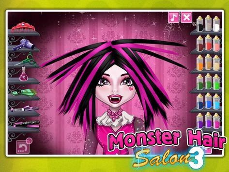 Monster Hair Salon screenshot 1