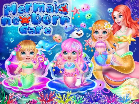 Mermaid Newborn Care apk screenshot