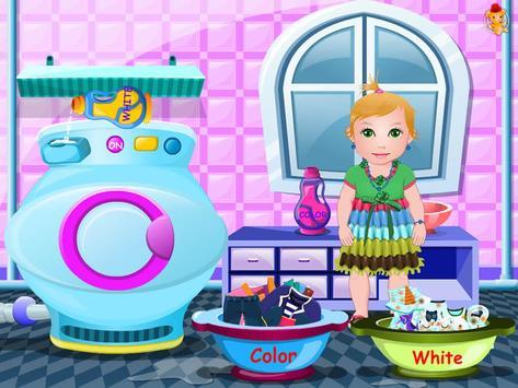 Baby Washing Clothes screenshot 11