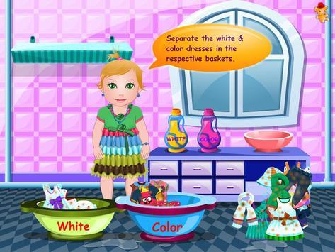 Baby Washing Clothes screenshot 2