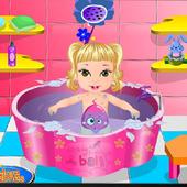 Baby Princess Caring Game icon