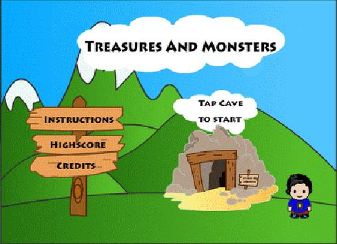 Treasures and Monsters apk screenshot