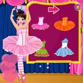 Ballet Dancer - Dress Up Game icon