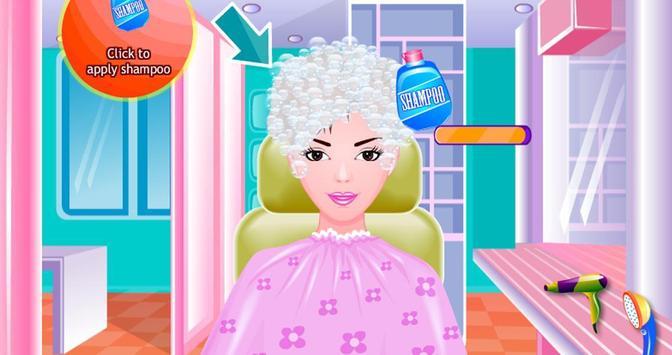 Free Girls Game Hair Salon screenshot 4