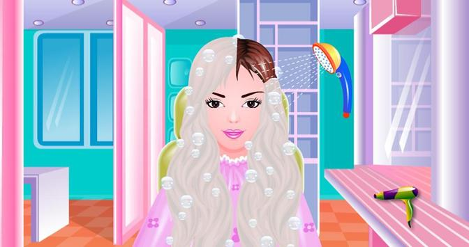Free Girls Game Hair Salon screenshot 5
