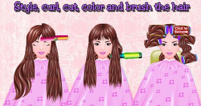 Free Girls Game Hair Salon screenshot 6
