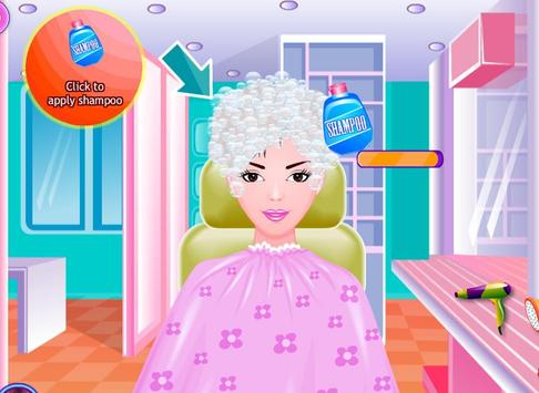 Free Girls Game Hair Salon screenshot 8