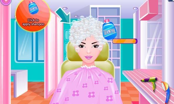 Free Girls Game Hair Salon poster