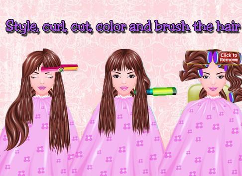 Free Girls Game Hair Salon screenshot 10