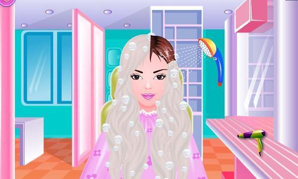 Free Girls Game Hair Salon screenshot 1
