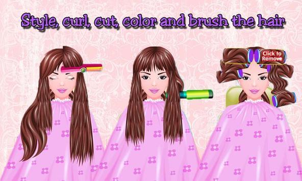 Free Girls Game Hair Salon screenshot 2