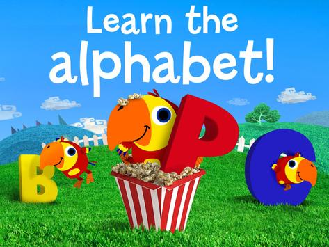 ABC's: Alphabet Learning Game poster