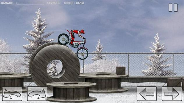 Bike Trial Snow Ride screenshot 4