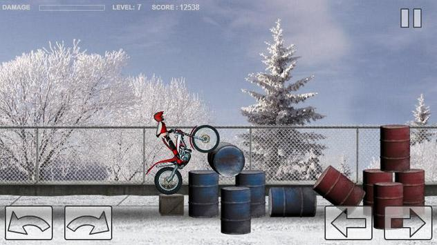 Bike Trial Snow Ride screenshot 5