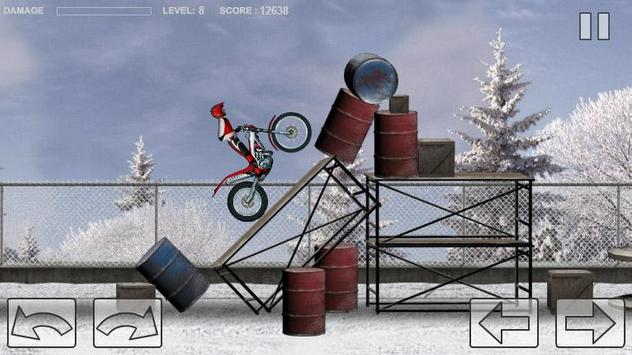 Bike Trial Snow Ride screenshot 1