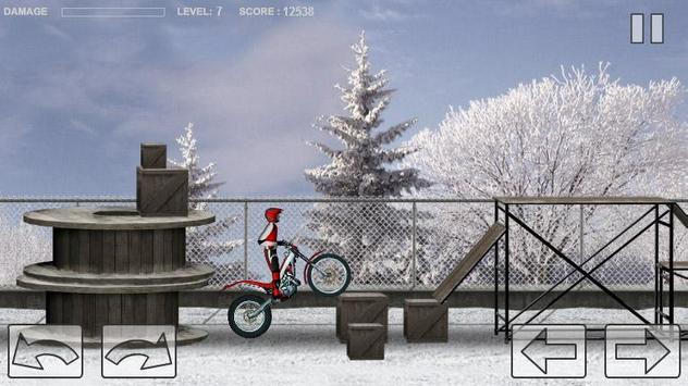 Bike Trial Snow Ride screenshot 2