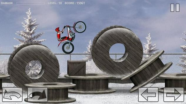 Bike Trial Snow Ride screenshot 3