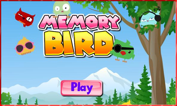Memory game - Matching bird poster