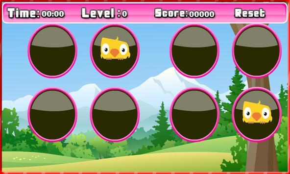 Memory game - Matching bird apk screenshot