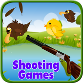 Shooting game - Bird shooting icon