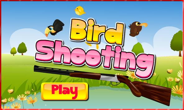 Shooting game - Bird shooting poster
