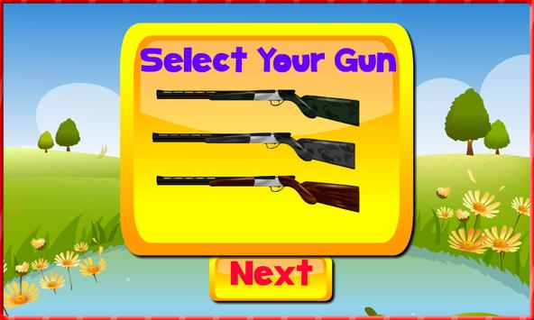Shooting game - Bird shooting screenshot 1