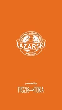 Fiszkoteka Uczelni Łazarskiego poster
