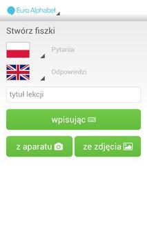 Fiszkoteka - Euro Alphabet screenshot 3