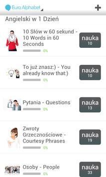 Fiszkoteka - Euro Alphabet screenshot 4