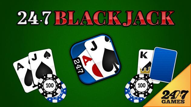 247 Blackjack poster
