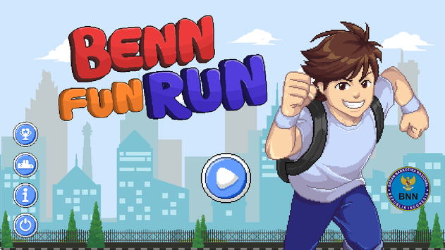 BENN Fun Run poster