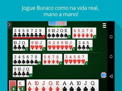 Buraco Online - Mano a Mano apk screenshot