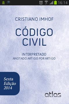 Código Civil 6ª Ed. Smartphone poster