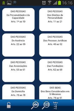 Código Civil 6ª Ed. Smartphone apk screenshot