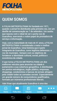Folha Metropolitana screenshot 2