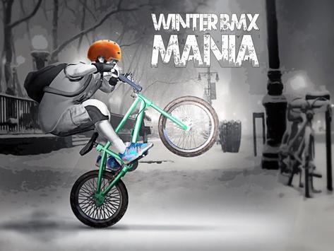 Winter BMX Mania poster