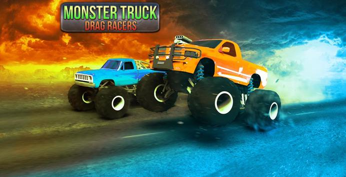 Monster Truck Drag Racers apk screenshot
