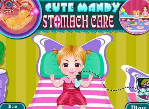 Cute mandy stomach care screenshot 8